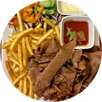 Muhos Pizza & Kebab kebab